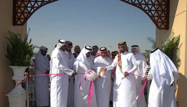 opening of Mahaseel Festival at the southern area of Katara.