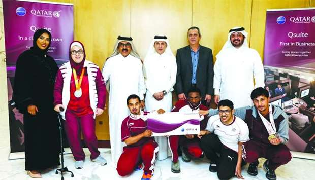 Qatar Airways awarded five Paralympians with special Gold membership