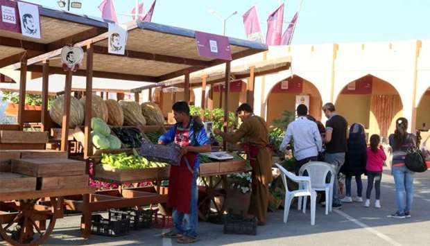 A variety of farm produce is available at the festival. PICTURE: Jayan Orma