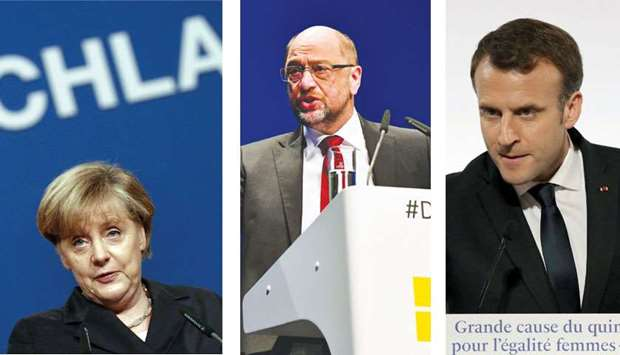 With Chancellor Angela Merkel and SPD leader Martin Schulz in the lead, the German government would