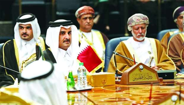 Emir Participates in Opening Session of 38th GCC Summit