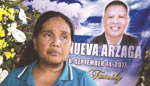 A September 27, 2017, photo of Adelita Arzaga, widow of murdered environmental para-enforcer and PNN