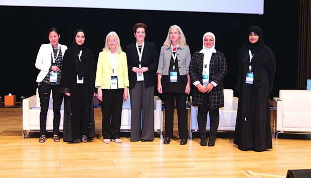 The 'Women in Science' workshop was attended by an array of scientists.