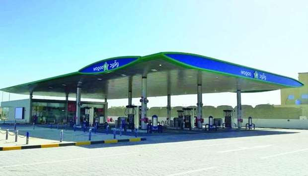 The Umm Ebairiya Petrol Station