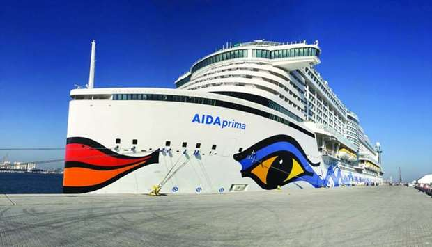 German ship AIDA Prima