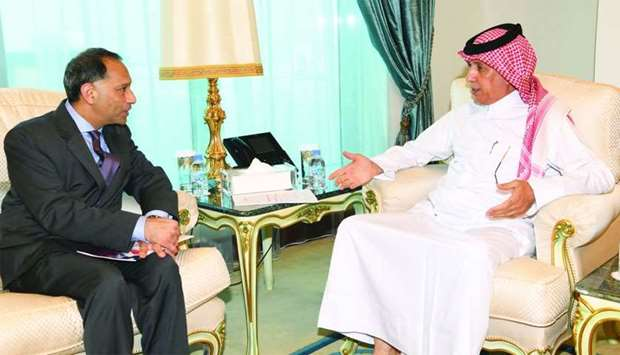 Al-Muraikhi meets senior US official