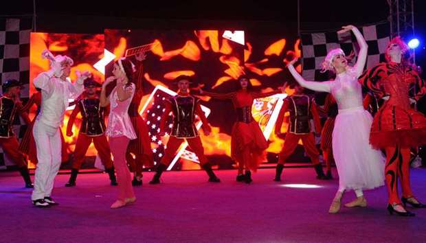 Spring Festival opens at Souq Waqif