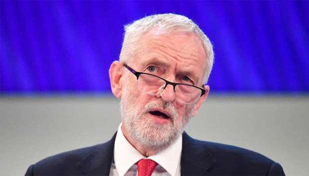 Corbyn criticised for saying he would go ahead with Brexit if PM