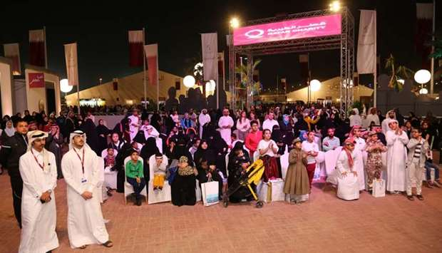 Qatar Charity's (QC) pavilion at Darb Al Saai