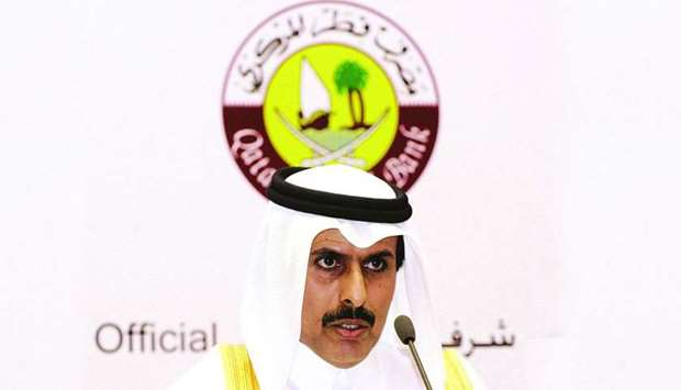 HE the QCB Governor Sheikh Abdulla bin Saoud al-Thani