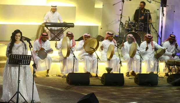 Music shows mesmerise audience at Souq Waqif