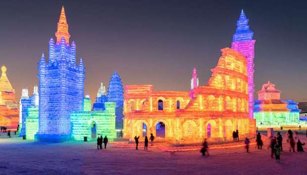 The Harbin International Ice and Snow Sculpture Festival