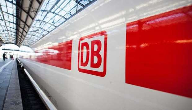 Train operator Deutsche Bahn