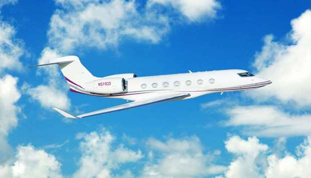 Gulfstream G500 executive jet
