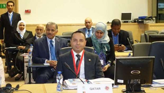 HE the Minister of Education and Higher Education Dr Mohamed Abdul Wahed al-Hammadi attending the Gl