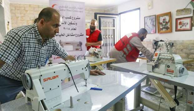 Sewing workshops in Al-Quds