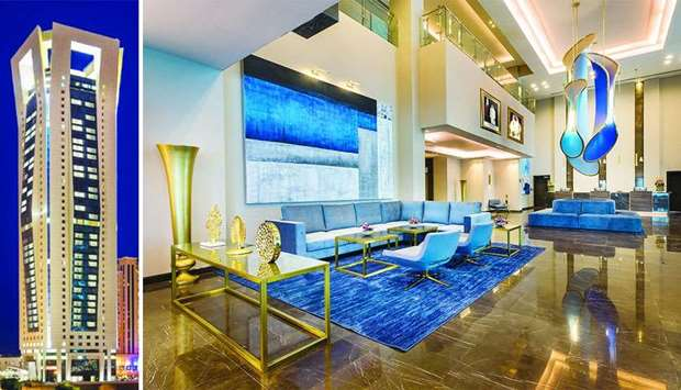 "Guests at Centara West Bay Residences & Suites Doha can choose from a range of 265 ""stylish and spac"