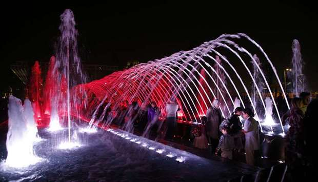 Light festival dazzles visitors