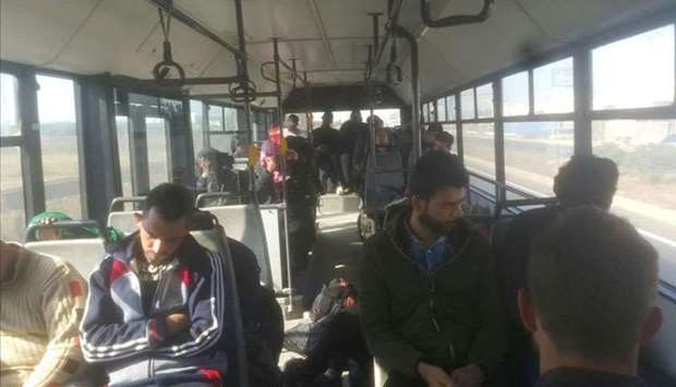 Illegal migrants arrested in Turkey