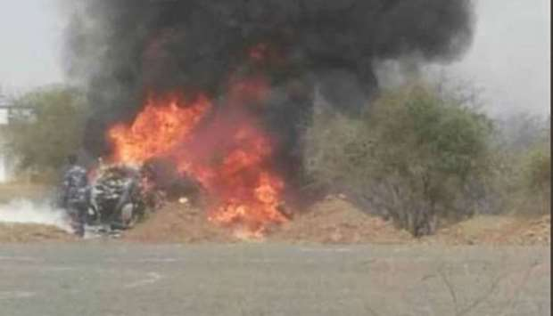 Sudan copter crash