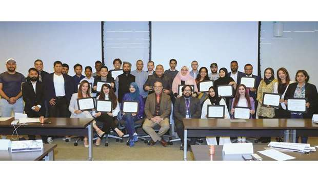 Participants of the Gulf Times - NU-Q