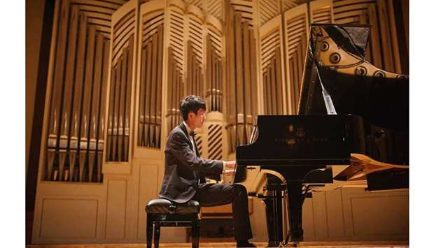 RISING STAR: Eric Lu, a Chinese-American musician will perform at Qatar Philharmonic Orchestra's nex