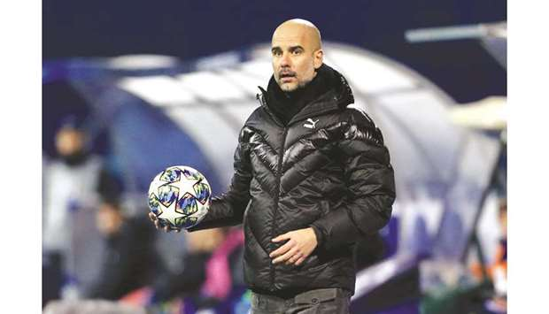 Manchester City manager Pep Guardiola. (Reuters)