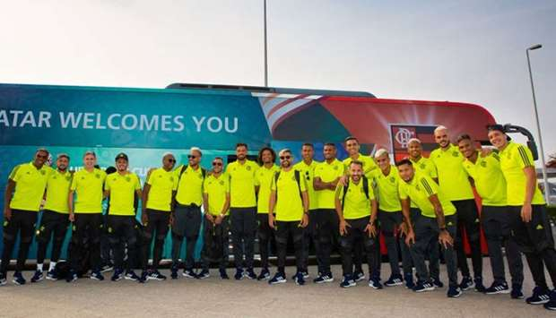 Flamengo arrive in Qatar fully focused on first game