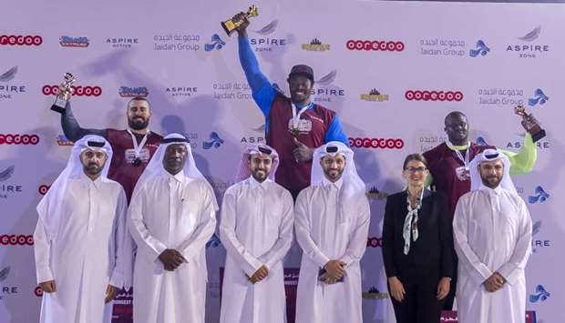 Proud moment for winners in Qatar's Strongest Man contest