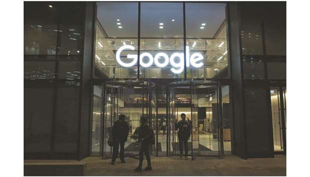 Google Inc's Kings Cross office in London. Google said the use of debit, credit and pre-paid cards a