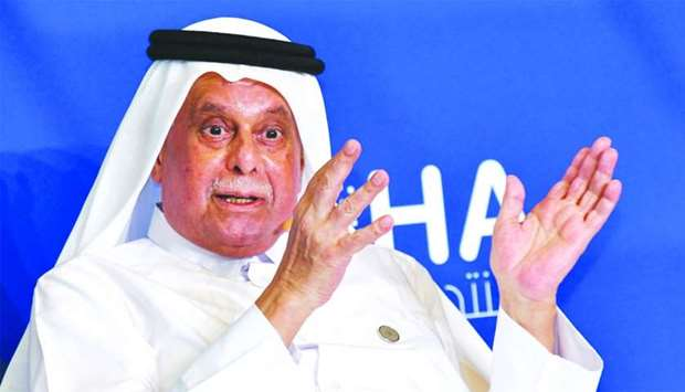 HE Abdullah bin Hamad al-Attiyah, the chairman of the Al-Attiyah International Foundation for Energy