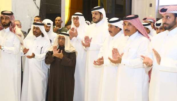 The move was marked during a special celebration at the premier Qatari bank's premises on the occasi
