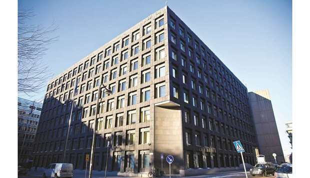 The headquarters of Sweden's central bank in Stockholm. The Riksbank decision on December 19 promise