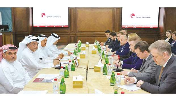 Qatar Chamber has hosted a Russian trade team led by CEO of Roscongress Foundation, Stuglev Alexande