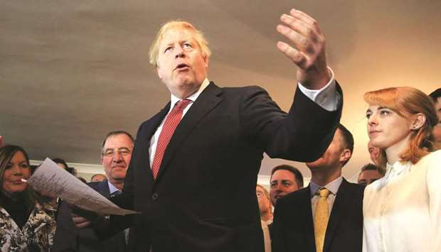 Johnson vows to repay ex-Labour voters' trust