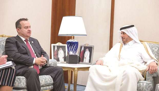 PM receives Doha Forum delegates