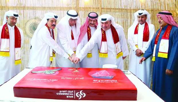 A cake-cutting ceremony signalled the start of the celebrations