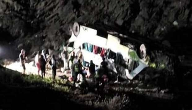 Chine bus accident