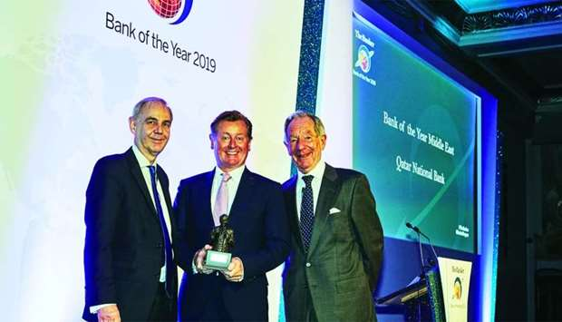 The Banker magazine's awards to QNB confirm its leadership in both Qatar and the region