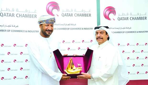 Qatar Chamber assistant director general for Government Relations and Committee Affairs Ali bu Sherb