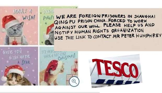 Tesco suspended a Chinese supplier
