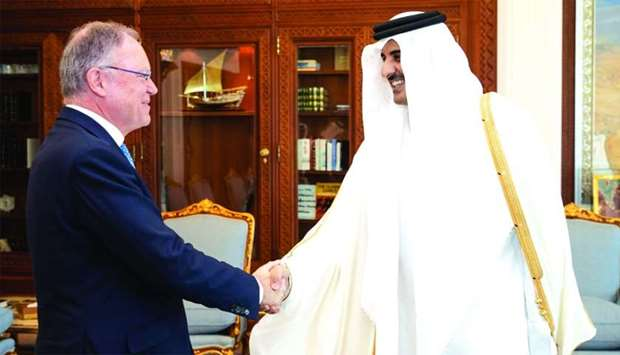Amir meets Lower Saxony PM