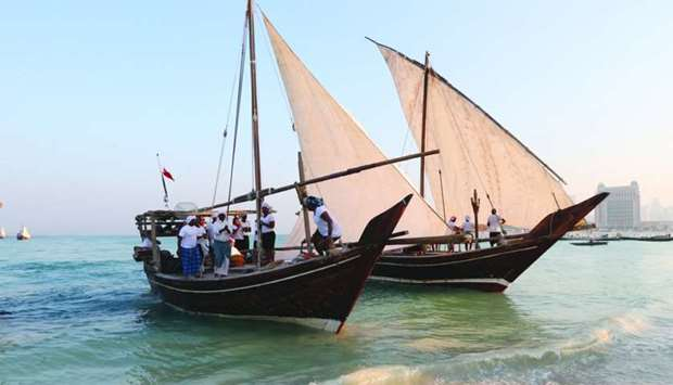 Traditional Dhow Festival kicks off on December 3
