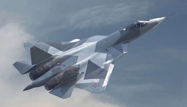 The Su-57 made its first appearance at Russia's annual Red Square parade in May last year