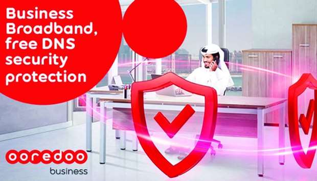 Ooredoo offers enhanced level of protection for business broadband customers