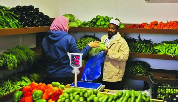 Mahaseel festival offers a variety of fresh produce from local farms.