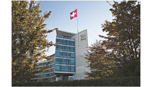 The headquarters of Nestle in Vevey, Switzerland. After quietly supplying coffee addicts their daily