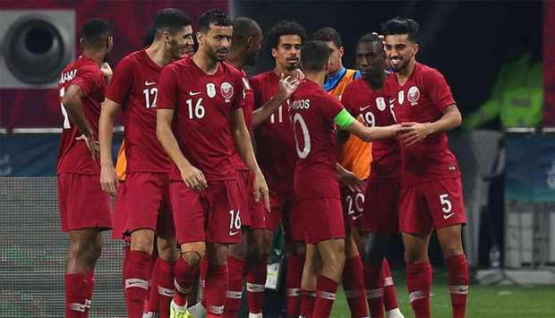 Qatar play Saudi Arabia for a spot in final