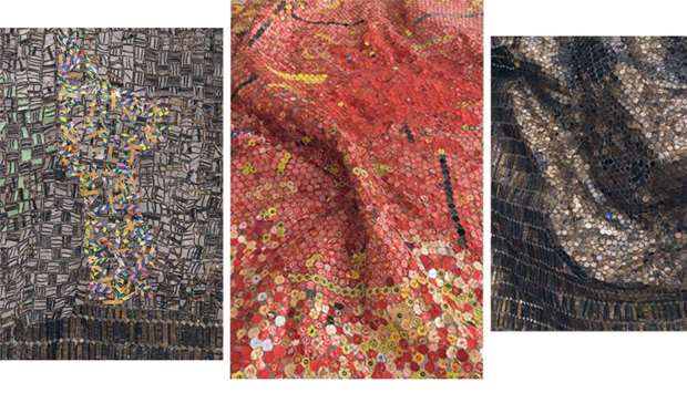 Mathaf hosts El Anatsui's first solo exhibition in the Middle East