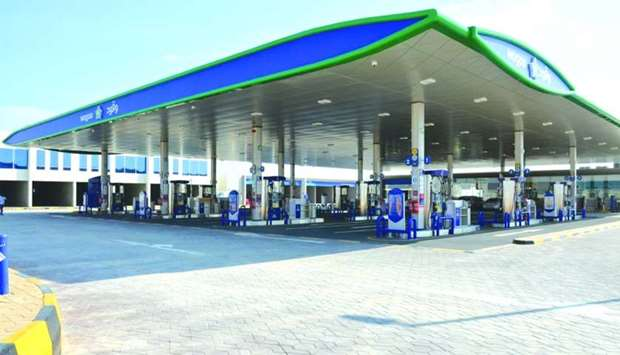 A view of Al Khor Petrol Station, opened on Thursday by Woqod.